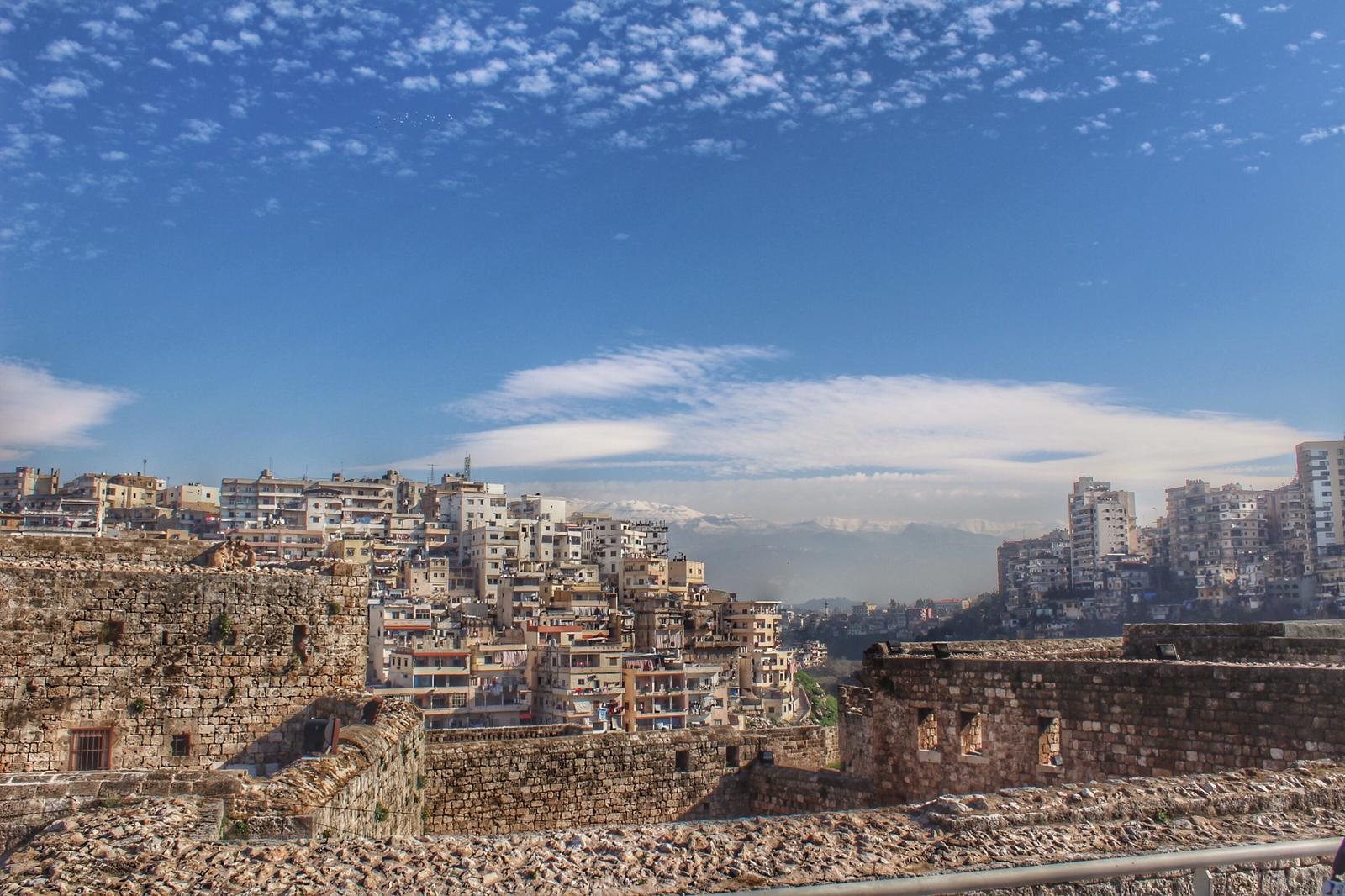 Tripoli vista Montagna